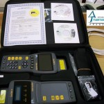 Certificador Lantek II con la unidad principal y la unidad remota