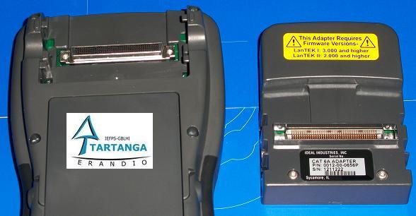 adaptador desmontado del certificador Lantek II 500 Mhz