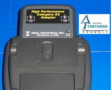adaptador para certificación categoría 6a del certificador Lantek II