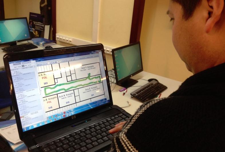 Practicas del certificado de profesionalidad ELES 0209 curso 2014_15_17