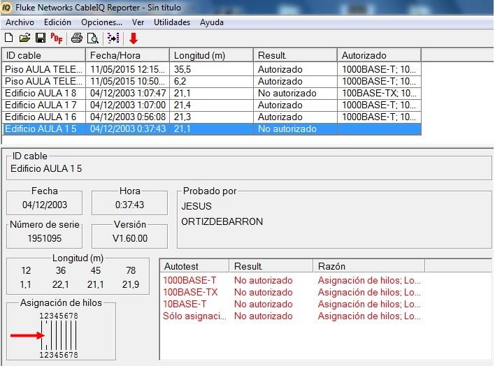 Cualificacion y certificacion cableado alumnos 1MEL_10