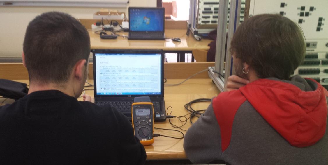 Cualificacion y certificacion cableado alumnos 1MEL_4