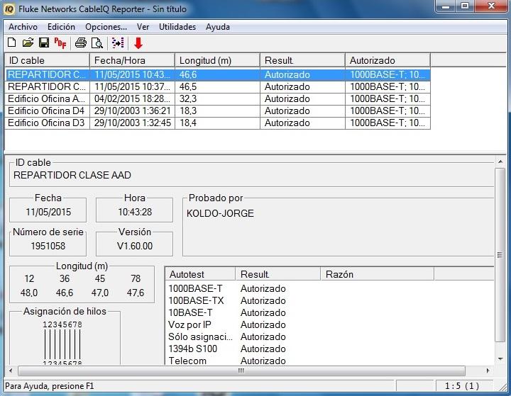 Cualificacion y certificacion cableado alumnos 1MEL_7